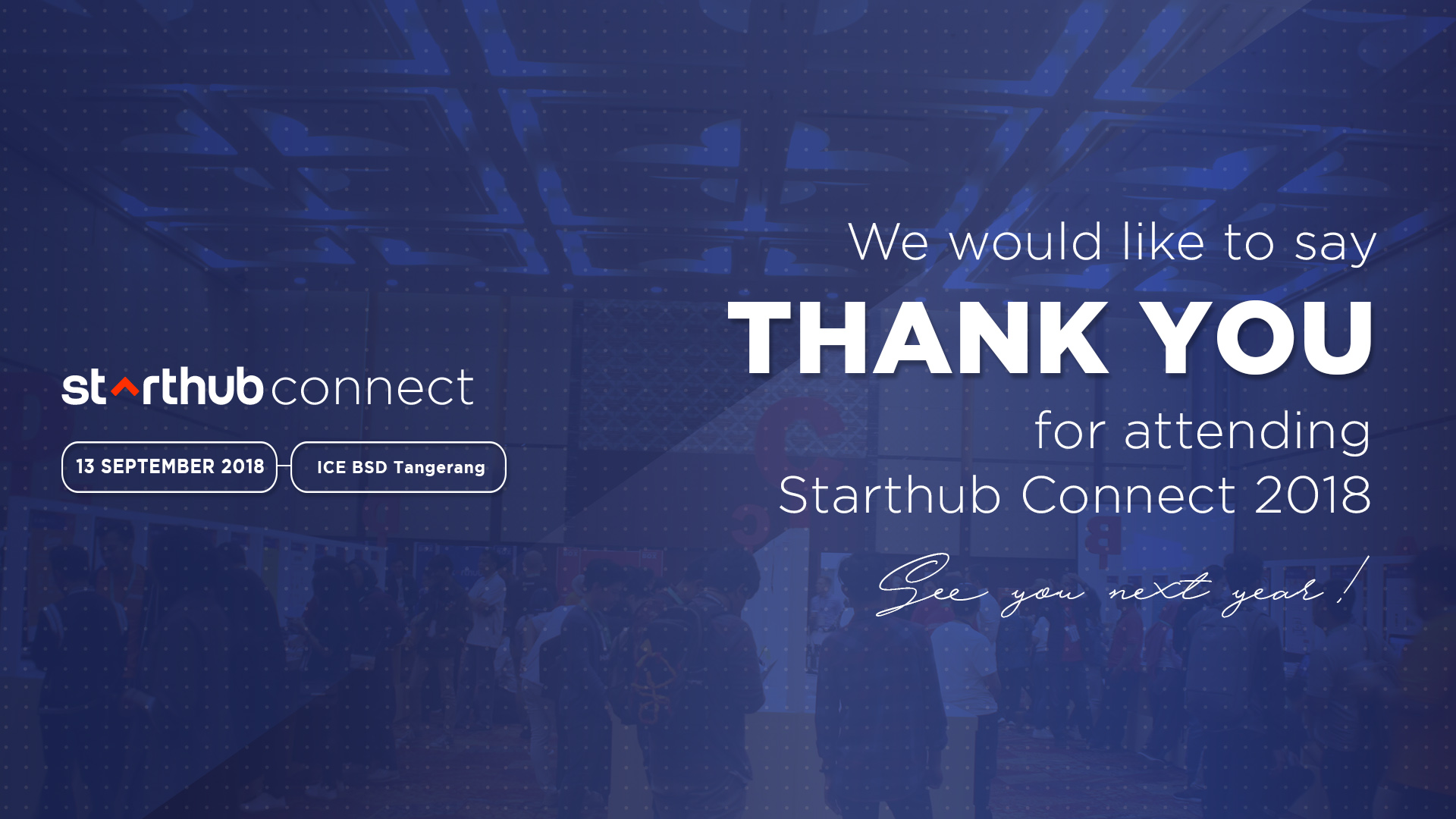 Starthub Connect - Thank you